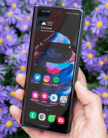 Leistung, Speicher und Akkulaufzeit beim Galaxy Z Fold2