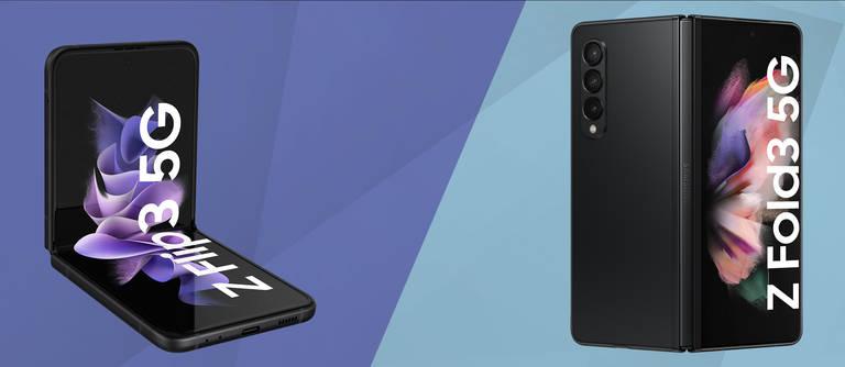 Galaxy Z Fold3 und Galaxy Z Flip3: Die neuen Klapphandys