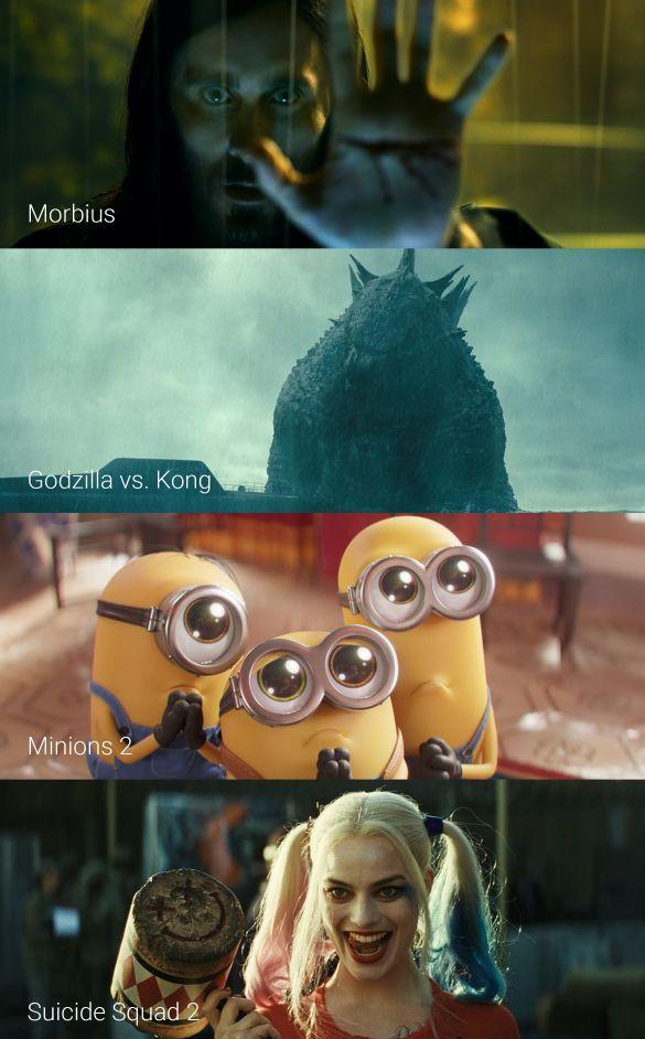 Diese Filme laufen 2021 im Kino