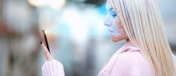 Smartphones mit Gesichtserkennung