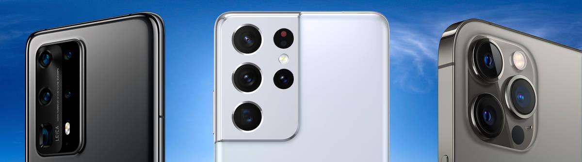 Smartphone-Kamera: Das können die Kameralinsen