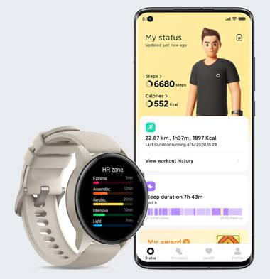 Mit der Smartwatch fit und aktiv bleiben