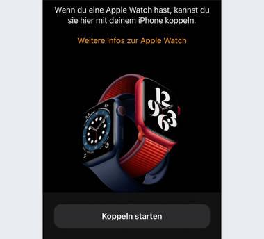 Wie verbinde ich meine Smartwatch mit dem Handy?