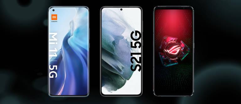 Smartphones mit der besten Display-Leistung