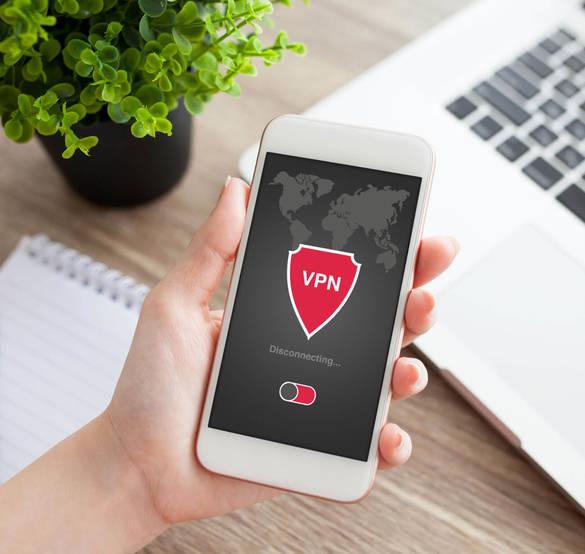 Schutz beim Surfen im Internet mithilfe eines VPN-Tunnels