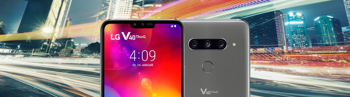 LG V40 ThinQ – die Daten & Fakten zur neuen Smartphone-Oberklasse von LG