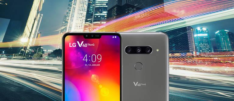 LG V40 ThinQ - die Daten & Fakten zur neuen Smartphone-Oberklasse