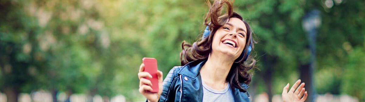 Bluetooth Lautsprecher fuers Smartphone