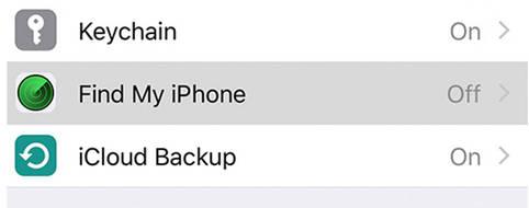 iPhone suchen und wiederfinden