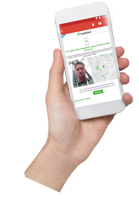 Antivirus Sicherheit Lookout Sicherheitsfeatures fürs Smartphone