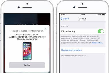 Schritt-fuer-Schritt-Anleitung: Alte iPhone-Daten aufs neue iPhone uebertragen