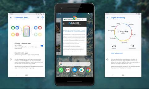 Neuerungen Android 9 Pie