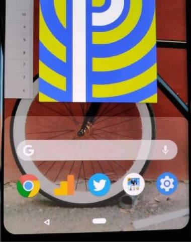 Navigation via Android 9 Pie