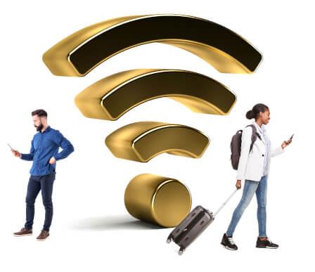 Smartphone als WLAN-Modem