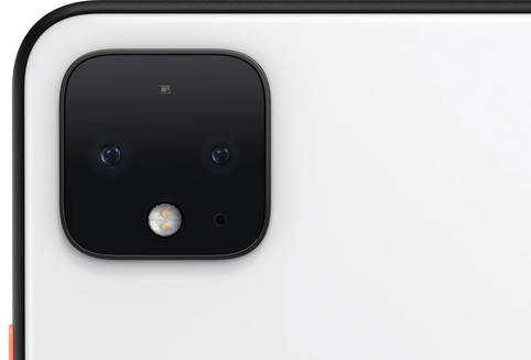 Im Smartphone integrierte Dual-Kamera liefert tolle Bilder beim Google Pixel 4