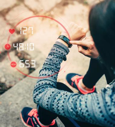 Pulsuhren – Portabler Monitor zur Kontrolle der Herzfrequenz beim Sport