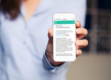 2021: WhatsApp aktualisiert die Nutzungsbedingungen und Datenschutzrichtlinie