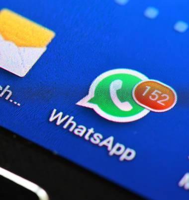 WhatsApp-Dateien löschen