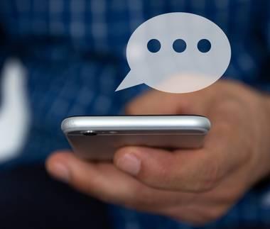 Kontakte informieren mit iOS