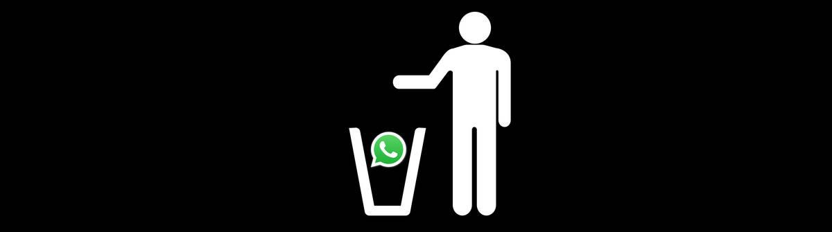 WhatsApp löschen und Kontakte informieren