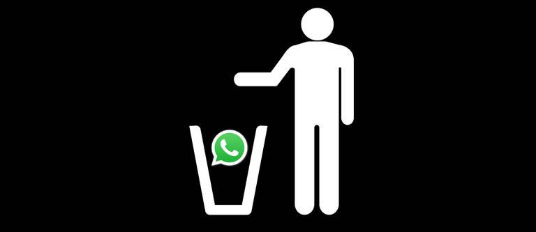WhatsApp löschen und Kontakte informieren: So geht's
