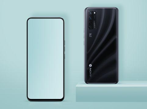 Mit dem ZTE Axon 20 5G erschien im September das erste Smartphone, dessen Frontkamera unter dem Display verbaut ist.