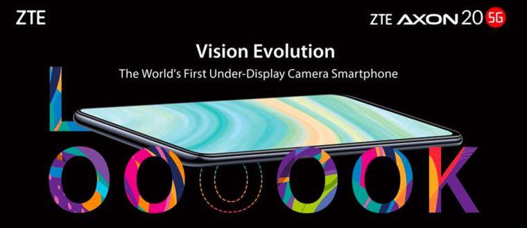 ZTE Axon 20 5G: Das Smartphone mit Unter-Display-Kamera